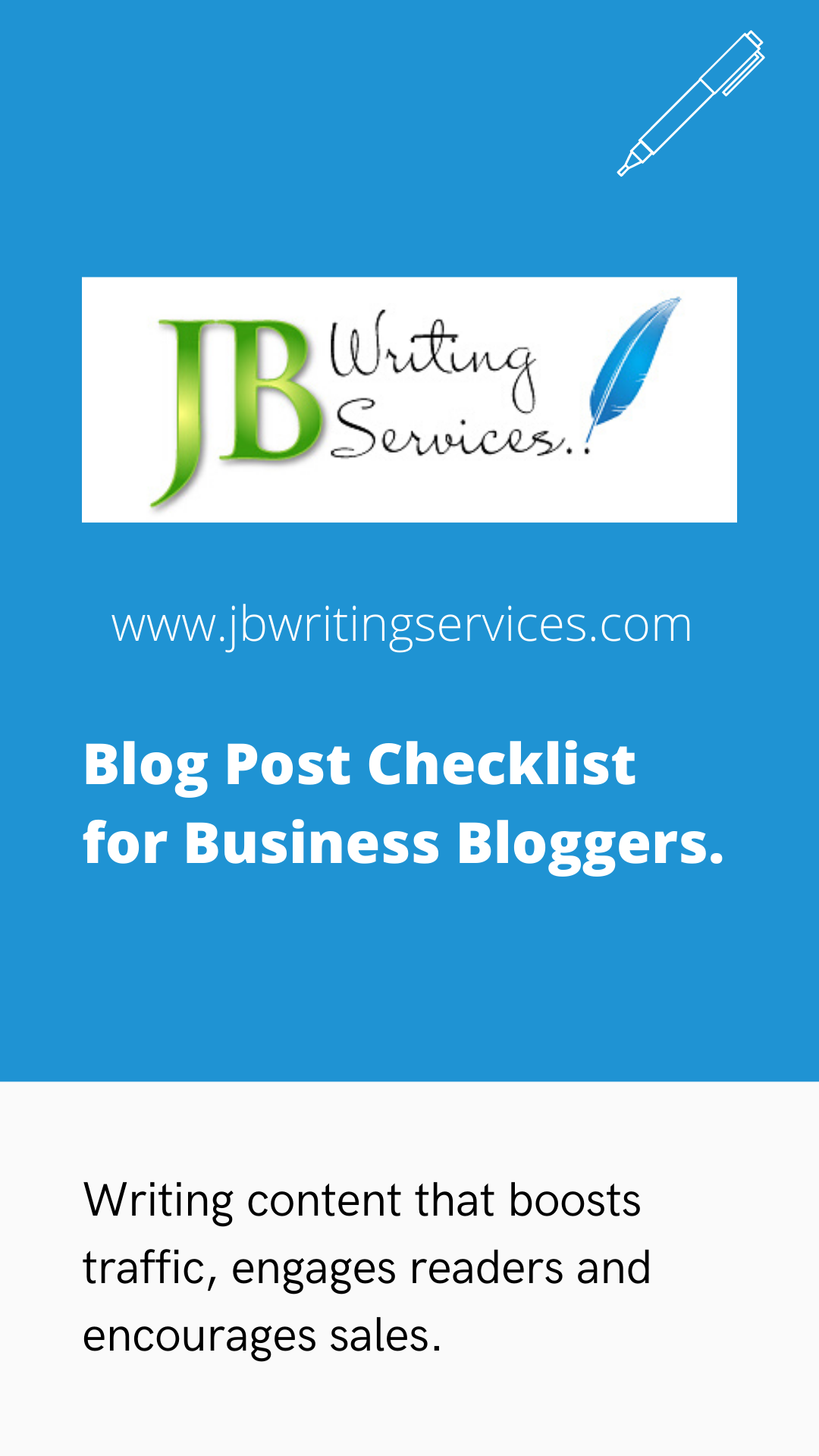 Business Blog Post Writing